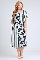 Женское летнее из вискозы большого размера платье Jurimex 2506 54р.