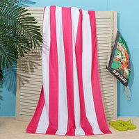 Полотенце пляжное в сумке Этель 'Попугаи', 70*140 см, микрофибра, 100 п/э