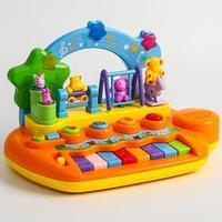 Музыкальный центр 'Парк развлечений', 14 мелодий и звуков , животные на каруселях крутятся