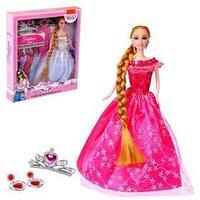 Кукла модель 'Агния' с набором платьев и аксессуарами для девочки, МИКС