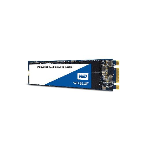 Жесткий диск внутренний Western Digital (WD) Blue  WDS500G2B0B (5Тб (5000Гб), SSD, M.2, Для ноутбуков, SATA)