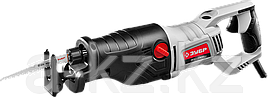 Пила сабельная (электроножовка), ЗУБР ЗПС-1400 Э, 1400 Вт, 0-2800 ход/мин, рез 255 мм (дерево),