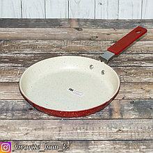 Сковорода блинная. Материал: Металл. Цвет: Белый/Красный.