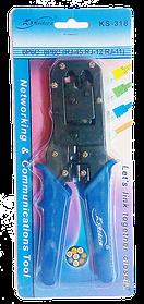 Инструмент KSModern KS-318 для обжима коннекторов RJ45/RJ12/RJ11