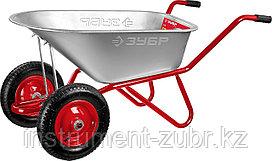 Тачка садово-строительная двухколесная, 180 кг, ЗУБР Т-21