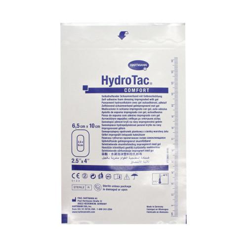 ГидроТак комфорт (HydroTac comfort), Самоклеящаяся губчатая повязка с гидрогелевым покрытием, 6,5х10 см, № 685
