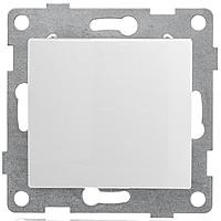 GUSI Bravo МЕХАНИЗМ Выкл. 1кл. перекрестный, скрытая установка, 10А, 250В. Цвет: белый.
