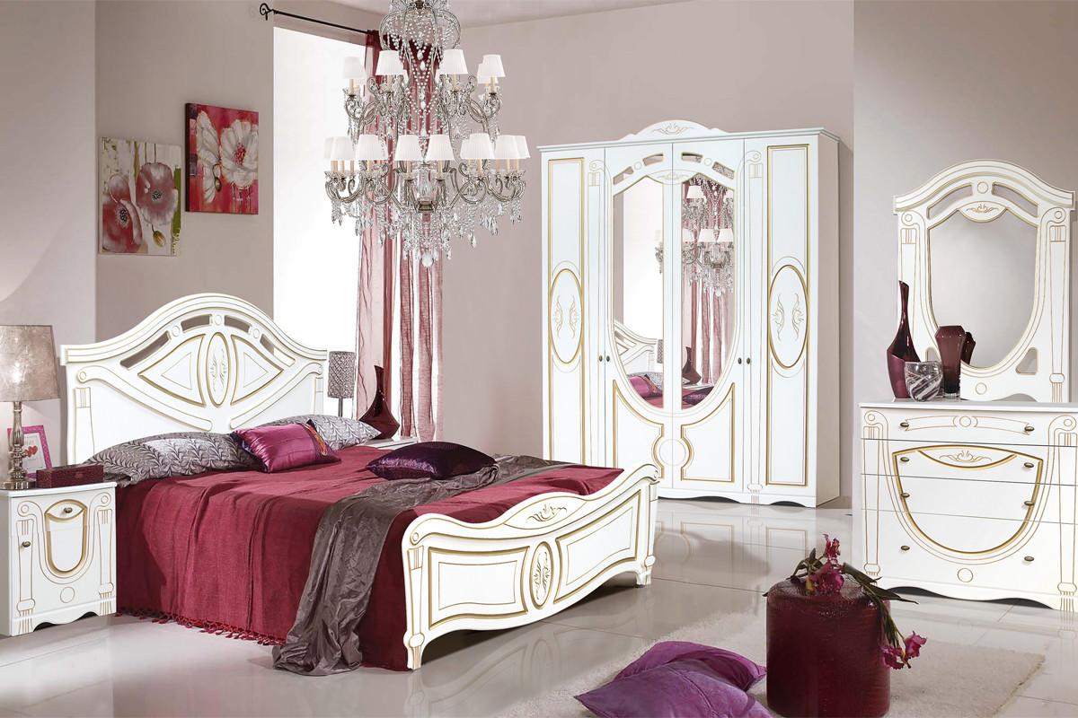 Комплект мебели для спальни Александрина, Крем, Империал(Россия)