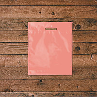 Пакеты с логотипом 25х36, Розовый