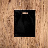 Пакеты с логотипом 30х40, Черный