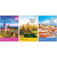 """Тетрадь общая ArtSpace """"Путешествия. Travel more"""", А4, 80 листов в клетку, на скрепке"""
