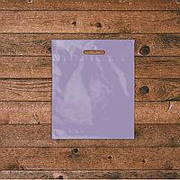 Пакеты с логотипом 34х40, Фиолетовый