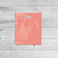 Пакеты с логотипом 35*45, Розовый