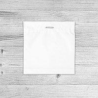 Пакеты с логотипом 60х60, Белый