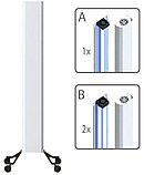 Бактерицидный рециркулятор, Clean HOME 2, Передвижной, 2 бактерицидные лампы (60см). 50 W, фото 3