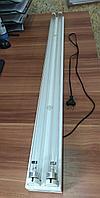 Акция! Бактерицидная ультрафиолетовая лампа в комплекте 120см, Т8УФ 72Вт, 2 лампы, корпус, кабель