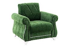 М/М Роуз, Диван ТД256 Зеленый + 2кр Роуз ТК256, Комплект, НиК, фото 3