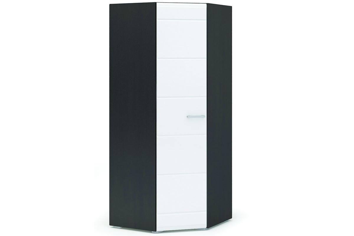 Шкаф для одежды 1Д , коллекции Вегас, Белый Глянец, Стендмебель (Россия)
