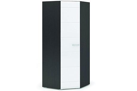 Шкаф для одежды 1Д , коллекции Вегас, Белый Глянец, Стендмебель (Россия), фото 2