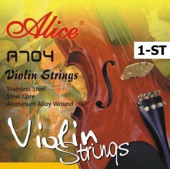 Струна Ля для  скрипки №-2 Alice A704