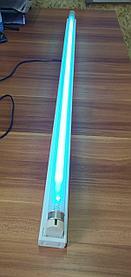 Акция! Бактерицидная ультрафиолетовая лампа в комплекте 36W, T8УФ, 120cm, корпус, кабель, 1 лампа