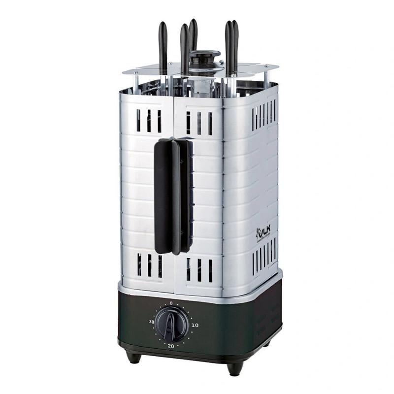 Электрошашлычница VLK Palerrmo 6500 черный/стальной