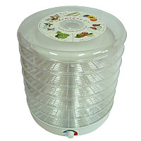 Сушилка для овощей и фруктов Спектр-Прибор Ветерок-2 с прозрачными секциями, 30 л