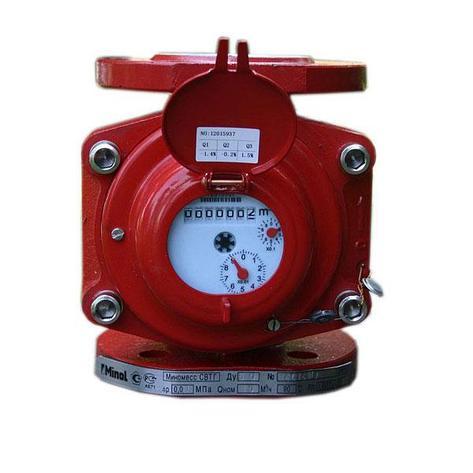 Счетчик воды турбинный Миномесс СВТГ/WPH-N-W 250мм Ду100, фото 2