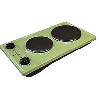 Плитка электрическая Лысьва ЭПБ 22 зеленый