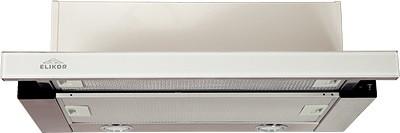 Кухонная вытяжка Elikor Интегра GLASS 45Н-400-В2Д нерж/стекло белое