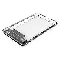 """Внешний корпус для HDD 2.5"""", Orico 2139U3-CR-PRO, USB3.0, прозрачный"""