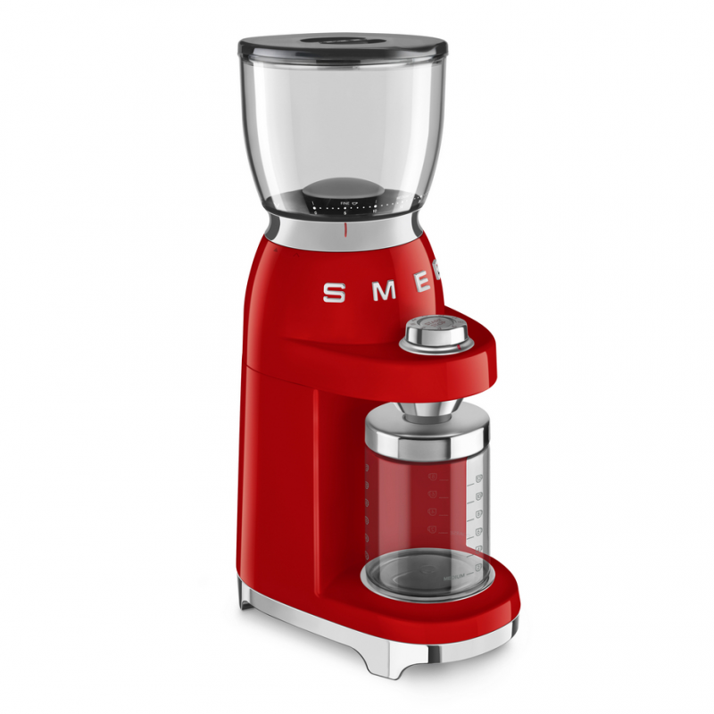 Кофемолка SMEG CGF01, красный