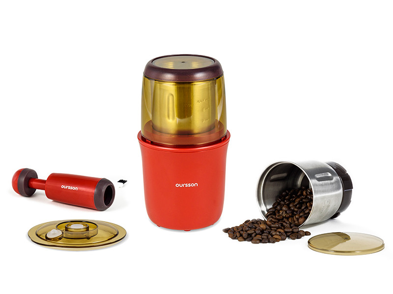 Кофемолка Oursson OG2075/RD, красный