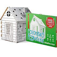 Домик раскраска БибаЛина Colouring play house с английским алфавитом.