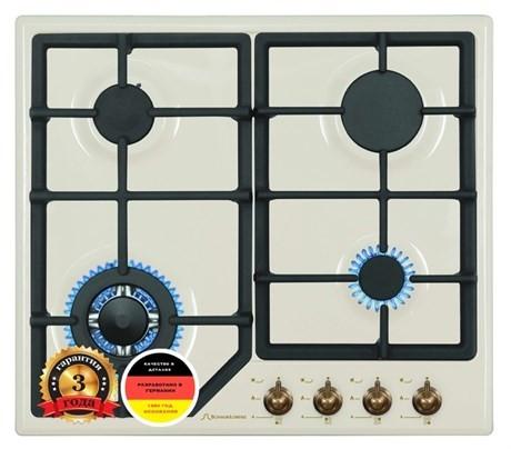 Газовая варочная панель Schaub Lorenz SLK GT6520 vintage beige