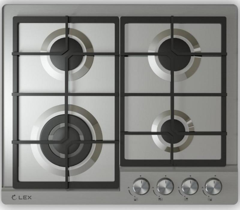 Газовая варочная панель Lex GVS 640 IX