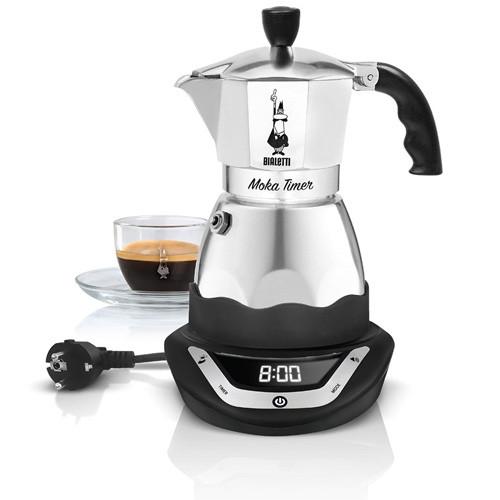 Кофеварка гейзерная Bialetti Moka timer, 3 п.