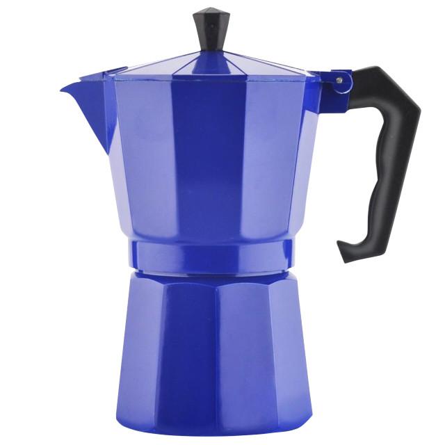 Гейзерная кофеварка на 6 чашек Mallony Grande алюминиевая (004263)