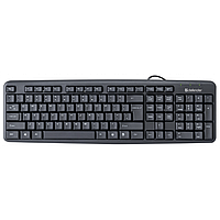 Клавиатура Defender Element HB-520, ENG/RUS, Black