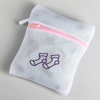 Мешок для стирки 17х20 см, трехслойный, крупная сетка, цвет МИКС