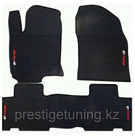 Резиновые коврики на Toyota RAV4 2014-18