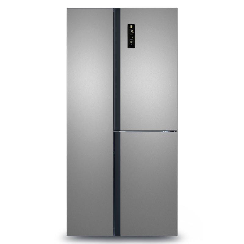 Холодильник Ginzzu NFK-445 Steel