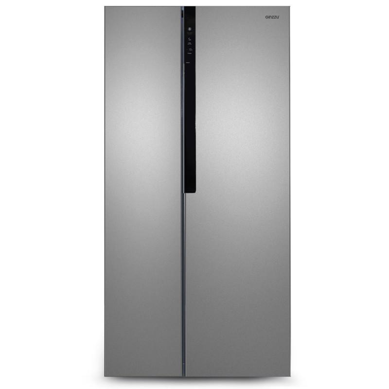 Холодильник Ginzzu NFK-440 Steel