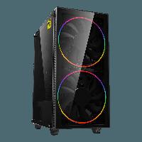 Корпус GameMax Black Hole, RGB, Black