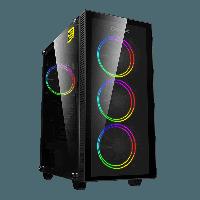 Корпус GameMax Draco XD, RGB, Black