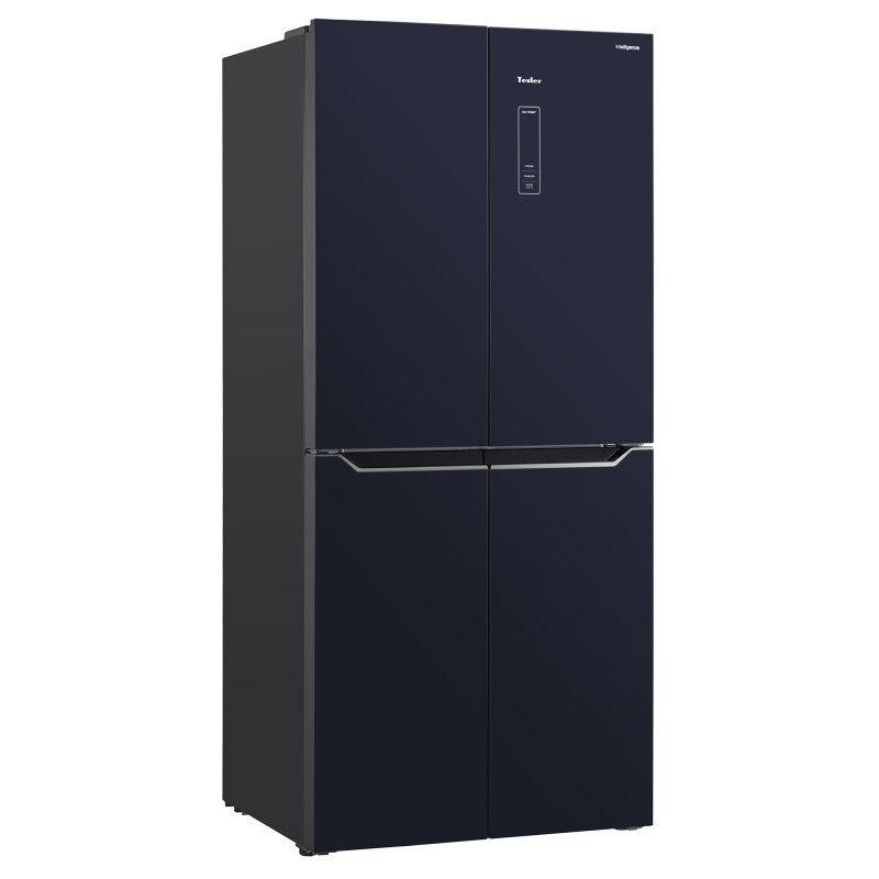 Холодильник Tesler RCD-480I черное стекло