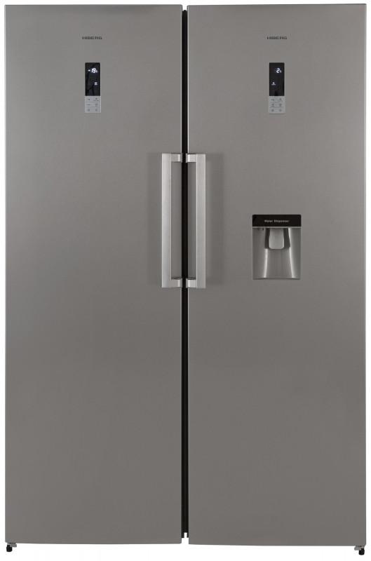 Холодильник Side by Side Hiberg SBS RF-47DD NFS+FR-34D NFS