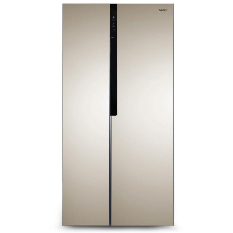 Холодильник Ginzzu NFK-440 Gold