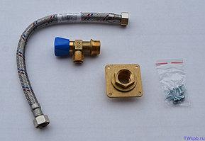 CERSANIT Запчасть: Набор фитингов для подвода воды к бачку, тип 1, для инсталляции, LEON NEW