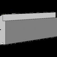 Панель 3D 25 Фасадная 36 mm с травертином